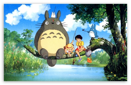 Ghibli My Neighbor 4K HD Desktop Wallpaper For 4K Ultra HD