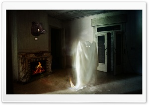 Ghost HD Wide Wallpaper for Widescreen
