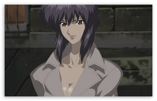 Ghost In The Shell   Motoko Kusanagi HD wallpaper for Wide 16:10 5:3 Widescreen WHXGA WQXGA WUXGA WXGA WGA ; HD 16:9 High Definition WQHD QWXGA 1080p 900p 720p QHD nHD ; Standard 4:3 5:4 3:2 Fullscreen UXGA XGA SVGA QSXGA SXGA DVGA HVGA HQVGA devices ( Apple PowerBook G4 iPhone 4 3G 3GS iPod Touch ) ; Tablet 1:1 ; iPad 1/2/Mini ; Mobile 4:3 5:3 3:2 16:9 5:4 - UXGA XGA SVGA WGA DVGA HVGA HQVGA devices ( Apple PowerBook G4 iPhone 4 3G 3GS iPod Touch ) WQHD QWXGA 1080p 900p 720p QHD nHD QSXGA SXGA ;