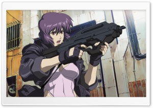 Ghost In The Shell Motoko Kusanagi HD Wide Wallpaper for 4K UHD Widescreen desktop & smartphone