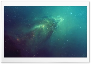 Ghost Nebula HD Wide Wallpaper for Widescreen