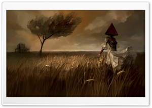 Ghost Painting HD Wide Wallpaper for Widescreen
