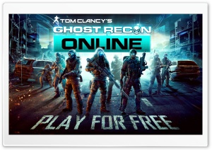 Ghost Recon Online HD Wide Wallpaper for Widescreen