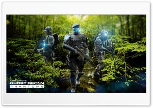 Ghost Recon Phantoms Jungle Pack By Emelson HD Wide Wallpaper for Widescreen