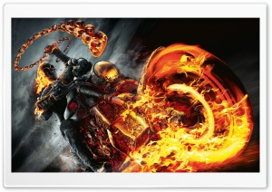 Ghost Rider Spirit of Vengeance (2012) HD Wide Wallpaper for Widescreen