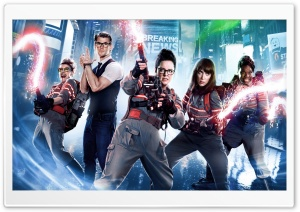 Ghostbusters Movie HD Wide Wallpaper for Widescreen