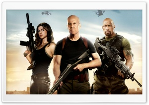 GI Joe Retaliation Bruce Willis HD Wide Wallpaper for Widescreen