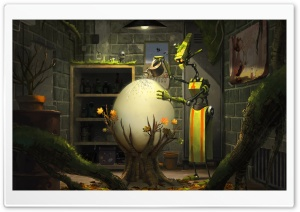 Giant Egg HD Wide Wallpaper for Widescreen