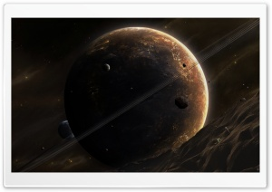 Giant Planet HD Wide Wallpaper for Widescreen