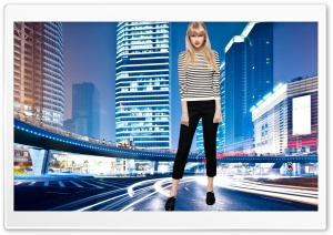 Giantess Taylor Swift HD Wide Wallpaper for Widescreen