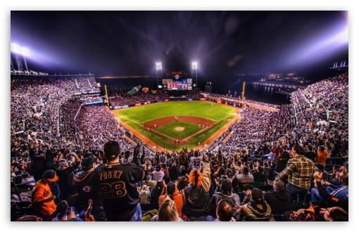 Giants Baseball Arena 4K HD Desktop Wallpaper For 4K Ultra