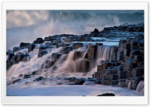 Giants Causeway Antrim Northern Ireland HD Wide Wallpaper for Widescreen