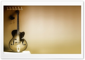 Gibson Guitar HD Wide Wallpaper for Widescreen