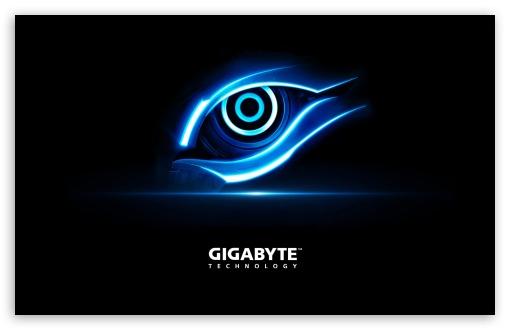 Gigabyte eye ❤ 4K HD Desktop Wallpaper for 4K Ultra HD TV