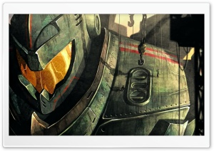 Gipsy Danger HD Wide Wallpaper for Widescreen