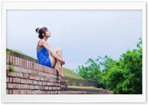 Girl HD Wide Wallpaper for Widescreen