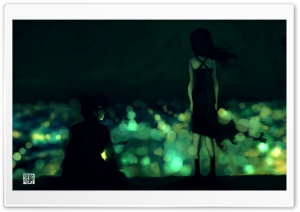 Girl And Boy Anime HD Wide Wallpaper for Widescreen