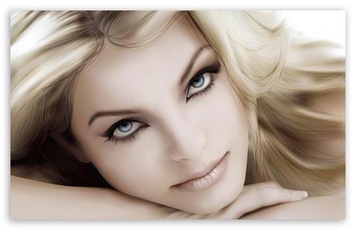 Download Girl Beautiful Eyes HD Wallpaper