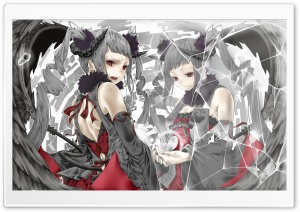 Girl Demon HD Wide Wallpaper for Widescreen