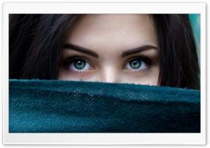 Girl, Eyes Ultra HD Wallpaper for 4K UHD Widescreen desktop, tablet & smartphone