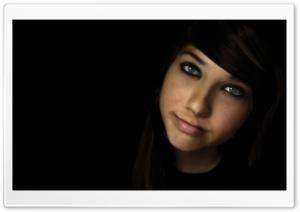 Girl In The Dark Ultra HD Wallpaper for 4K UHD Widescreen desktop, tablet & smartphone