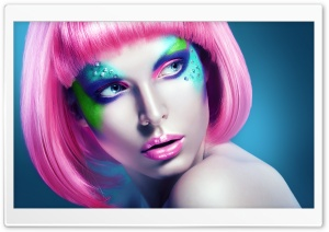 Girl Makeup Ultra HD Wallpaper for 4K UHD Widescreen desktop, tablet & smartphone