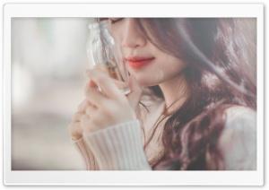 Girl Portrait Close-up Ultra HD Wallpaper for 4K UHD Widescreen desktop, tablet & smartphone