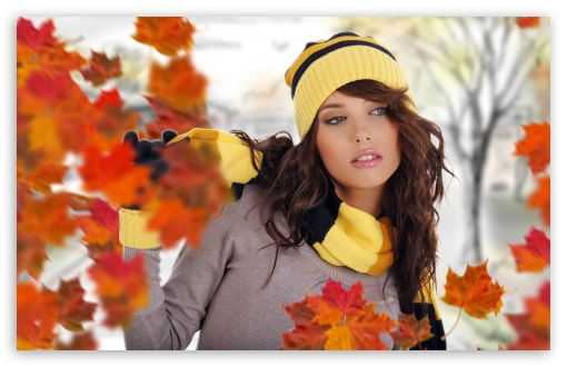 Girl Posing Autumn HD wallpaper for Wide 16:10 5:3 Widescreen WHXGA WQXGA WUXGA WXGA WGA ; HD 16:9 High Definition WQHD QWXGA 1080p 900p 720p QHD nHD ; Standard 4:3 5:4 3:2 Fullscreen UXGA XGA SVGA QSXGA SXGA DVGA HVGA HQVGA devices ( Apple PowerBook G4 iPhone 4 3G 3GS iPod Touch ) ; Tablet 1:1 ; iPad 1/2/Mini ; Mobile 4:3 5:3 3:2 16:9 5:4 - UXGA XGA SVGA WGA DVGA HVGA HQVGA devices ( Apple PowerBook G4 iPhone 4 3G 3GS iPod Touch ) WQHD QWXGA 1080p 900p 720p QHD nHD QSXGA SXGA ;
