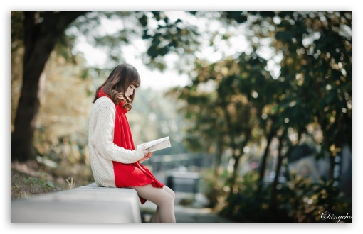 Girl Reading HD wallpaper for Wide 16:10 5:3 Widescreen WHXGA WQXGA WUXGA WXGA WGA ; HD 16:9 High Definition WQHD QWXGA 1080p 900p 720p QHD nHD ; UHD 16:9 WQHD QWXGA 1080p 900p 720p QHD nHD ; Standard 4:3 5:4 3:2 Fullscreen UXGA XGA SVGA QSXGA SXGA DVGA HVGA HQVGA devices ( Apple PowerBook G4 iPhone 4 3G 3GS iPod Touch ) ; iPad 1/2/Mini ; Mobile 4:3 5:3 3:2 16:9 5:4 - UXGA XGA SVGA WGA DVGA HVGA HQVGA devices ( Apple PowerBook G4 iPhone 4 3G 3GS iPod Touch ) WQHD QWXGA 1080p 900p 720p QHD nHD QSXGA SXGA ;