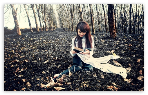 Girl Reading A Book HD wallpaper for Wide 16:10 5:3 Widescreen WHXGA WQXGA WUXGA WXGA WGA ; HD 16:9 High Definition WQHD QWXGA 1080p 900p 720p QHD nHD ; Standard 4:3 5:4 3:2 Fullscreen UXGA XGA SVGA QSXGA SXGA DVGA HVGA HQVGA devices ( Apple PowerBook G4 iPhone 4 3G 3GS iPod Touch ) ; Tablet 1:1 ; iPad 1/2/Mini ; Mobile 4:3 5:3 3:2 16:9 5:4 - UXGA XGA SVGA WGA DVGA HVGA HQVGA devices ( Apple PowerBook G4 iPhone 4 3G 3GS iPod Touch ) WQHD QWXGA 1080p 900p 720p QHD nHD QSXGA SXGA ;