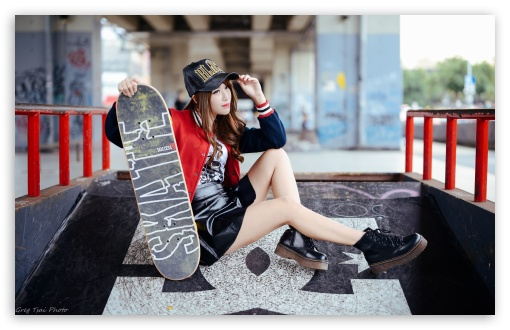 Girl Skateboarder Style ❤ 4K UHD Wallpaper for Wide 16:10 5:3 Widescreen WHXGA WQXGA WUXGA WXGA WGA ; 4K UHD 16:9 Ultra High Definition 2160p 1440p 1080p 900p 720p ; UHD 16:9 2160p 1440p 1080p 900p 720p ; Standard 3:2 Fullscreen DVGA HVGA HQVGA ( Apple PowerBook G4 iPhone 4 3G 3GS iPod Touch ) ; Mobile 5:3 3:2 16:9 - WGA DVGA HVGA HQVGA ( Apple PowerBook G4 iPhone 4 3G 3GS iPod Touch ) 2160p 1440p 1080p 900p 720p ;