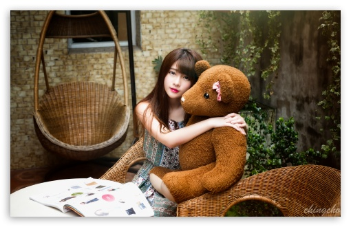 Girl with a Teddy Bear ❤ 4K UHD Wallpaper for Wide 16:10 5:3 Widescreen WHXGA WQXGA WUXGA WXGA WGA ; 4K UHD 16:9 Ultra High Definition 2160p 1440p 1080p 900p 720p ; UHD 16:9 2160p 1440p 1080p 900p 720p ; Standard 4:3 5:4 3:2 Fullscreen UXGA XGA SVGA QSXGA SXGA DVGA HVGA HQVGA ( Apple PowerBook G4 iPhone 4 3G 3GS iPod Touch ) ; iPad 1/2/Mini ; Mobile 4:3 5:3 3:2 16:9 5:4 - UXGA XGA SVGA WGA DVGA HVGA HQVGA ( Apple PowerBook G4 iPhone 4 3G 3GS iPod Touch ) 2160p 1440p 1080p 900p 720p QSXGA SXGA ;