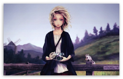 Girl With Camera HD wallpaper for Wide 16:10 5:3 Widescreen WHXGA WQXGA WUXGA WXGA WGA ; HD 16:9 High Definition WQHD QWXGA 1080p 900p 720p QHD nHD ; Standard 4:3 5:4 3:2 Fullscreen UXGA XGA SVGA QSXGA SXGA DVGA HVGA HQVGA devices ( Apple PowerBook G4 iPhone 4 3G 3GS iPod Touch ) ; Tablet 1:1 ; iPad 1/2/Mini ; Mobile 4:3 5:3 3:2 16:9 5:4 - UXGA XGA SVGA WGA DVGA HVGA HQVGA devices ( Apple PowerBook G4 iPhone 4 3G 3GS iPod Touch ) WQHD QWXGA 1080p 900p 720p QHD nHD QSXGA SXGA ;
