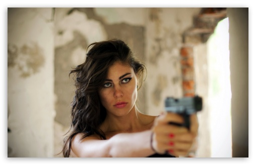 Girl With Gun HD wallpaper for Wide 16:10 5:3 Widescreen WHXGA WQXGA WUXGA WXGA WGA ; HD 16:9 High Definition WQHD QWXGA 1080p 900p 720p QHD nHD ; Standard 4:3 5:4 3:2 Fullscreen UXGA XGA SVGA QSXGA SXGA DVGA HVGA HQVGA devices ( Apple PowerBook G4 iPhone 4 3G 3GS iPod Touch ) ; Tablet 1:1 ; iPad 1/2/Mini ; Mobile 4:3 5:3 3:2 16:9 5:4 - UXGA XGA SVGA WGA DVGA HVGA HQVGA devices ( Apple PowerBook G4 iPhone 4 3G 3GS iPod Touch ) WQHD QWXGA 1080p 900p 720p QHD nHD QSXGA SXGA ;