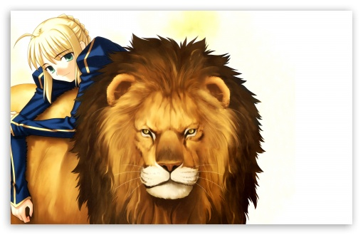 Girl With Her Lion Anime HD wallpaper for Wide 16:10 5:3 Widescreen WHXGA WQXGA WUXGA WXGA WGA ; Standard 4:3 5:4 3:2 Fullscreen UXGA XGA SVGA QSXGA SXGA DVGA HVGA HQVGA devices ( Apple PowerBook G4 iPhone 4 3G 3GS iPod Touch ) ; iPad 1/2/Mini ; Mobile 4:3 5:3 3:2 16:9 5:4 - UXGA XGA SVGA WGA DVGA HVGA HQVGA devices ( Apple PowerBook G4 iPhone 4 3G 3GS iPod Touch ) WQHD QWXGA 1080p 900p 720p QHD nHD QSXGA SXGA ;