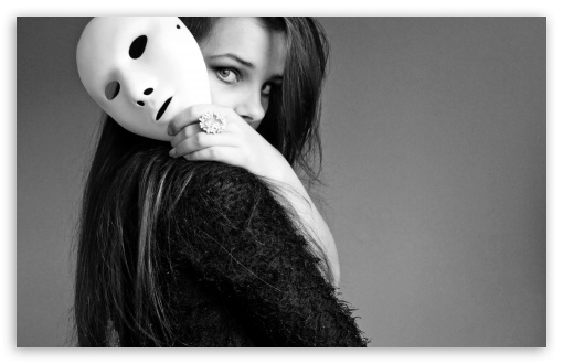 Girl With Mask HD wallpaper for Wide 16:10 5:3 Widescreen WHXGA WQXGA WUXGA WXGA WGA ; HD 16:9 High Definition WQHD QWXGA 1080p 900p 720p QHD nHD ; Standard 4:3 5:4 3:2 Fullscreen UXGA XGA SVGA QSXGA SXGA DVGA HVGA HQVGA devices ( Apple PowerBook G4 iPhone 4 3G 3GS iPod Touch ) ; Tablet 1:1 ; iPad 1/2/Mini ; Mobile 4:3 5:3 3:2 16:9 5:4 - UXGA XGA SVGA WGA DVGA HVGA HQVGA devices ( Apple PowerBook G4 iPhone 4 3G 3GS iPod Touch ) WQHD QWXGA 1080p 900p 720p QHD nHD QSXGA SXGA ;