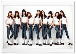 Girls Generation HD Wide Wallpaper for Widescreen