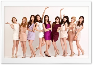 Girls' Generation January 2012 HD Wide Wallpaper for Widescreen