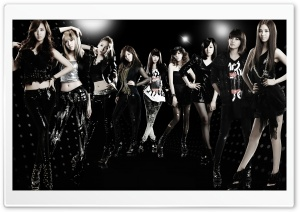 Girls Generation Run Devil Run HD Wide Wallpaper for Widescreen