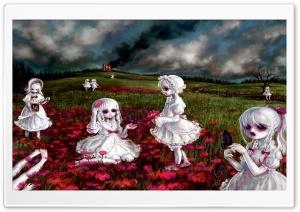 Girls In White Dresses Ultra HD Wallpaper for 4K UHD Widescreen desktop, tablet & smartphone