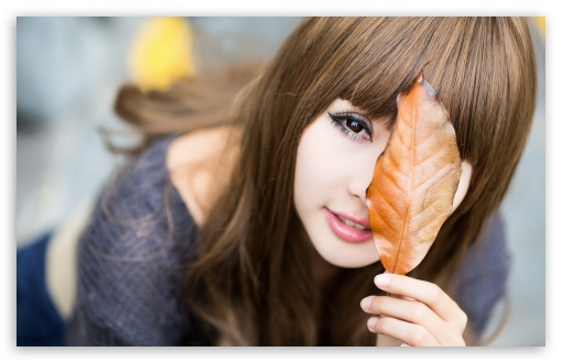 Girls Leaves HD wallpaper for Wide 16:10 5:3 Widescreen WHXGA WQXGA WUXGA WXGA WGA ; HD 16:9 High Definition WQHD QWXGA 1080p 900p 720p QHD nHD ; Standard 4:3 5:4 3:2 Fullscreen UXGA XGA SVGA QSXGA SXGA DVGA HVGA HQVGA devices ( Apple PowerBook G4 iPhone 4 3G 3GS iPod Touch ) ; Tablet 1:1 ; iPad 1/2/Mini ; Mobile 4:3 5:3 3:2 16:9 5:4 - UXGA XGA SVGA WGA DVGA HVGA HQVGA devices ( Apple PowerBook G4 iPhone 4 3G 3GS iPod Touch ) WQHD QWXGA 1080p 900p 720p QHD nHD QSXGA SXGA ;