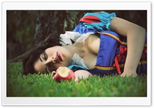 Girls Snow White HD Wide Wallpaper for Widescreen