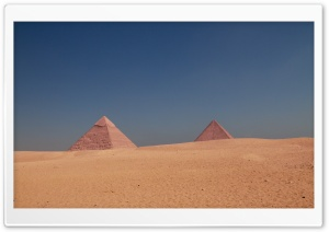 Giza Pyramids HD Wide Wallpaper for Widescreen