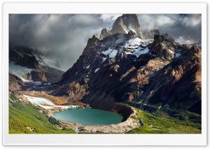 Glacial Lake Ultra HD Wallpaper for 4K UHD Widescreen desktop, tablet & smartphone