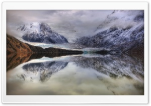 Glacial Lake In Argentina HD Wide Wallpaper for Widescreen