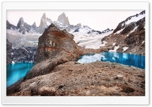 Glacial Mountain Lakes HD Wide Wallpaper for Widescreen
