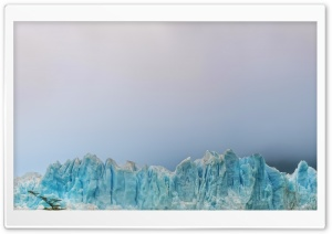 Glacier In The Fog HD Wide Wallpaper for Widescreen
