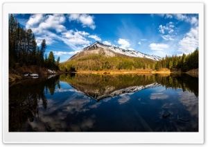 Glacier National Park Lake HD Wide Wallpaper for Widescreen