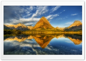 Glacier National Park Landscape HD Wide Wallpaper for 4K UHD Widescreen desktop & smartphone