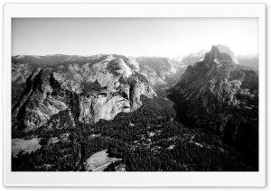 Glacier Point Yosemite HD Wide Wallpaper for Widescreen